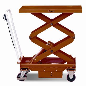 虎力 双剪电动升降平台车,载重(kg):500,起升范围(mm):495~1618