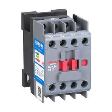 德力西 交流线圈接触器,CJX2s-0601 220V/230V 50/60Hz,CJX2S0601M7