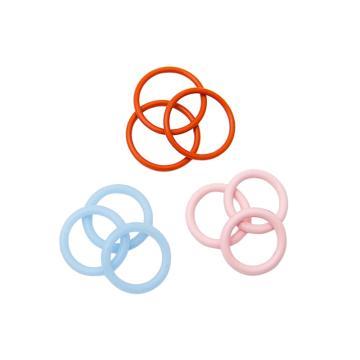O型圈,硅胶SIL60 AS-011 7.65*1.78(内径*线径),300个/包,美标AS-568