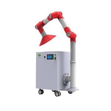 华风 移动式净气型万向抽风罩,LED显示屏,空气处理量:90m3/h,接口内径:90mm,MH460