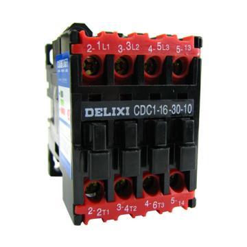 德力西 交流线圈接触器,CDC1-16-30-10 36V,CDC1163010C