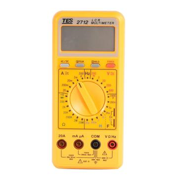 泰仕/TES 数位电表TES-2712