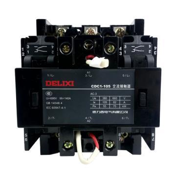 德力西 交流线圈接触器,CDC1-105-30-22 380V,CDC11053022Q