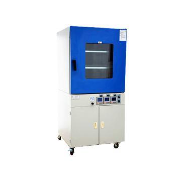 真空干燥箱,液晶显示,DZF-6090,控温范围:RT+10~250℃,载物托架:2pcs,工作室尺寸:450x450x450mm