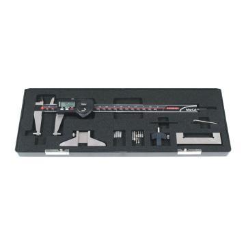 马尔数显卡尺套装,IP67防水型,含标准附件,200mm,4118807