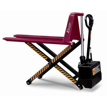电动剪式升高液压搬运车,承重:1500kg,货叉长:1100mm,货叉宽:680mm