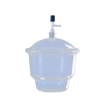 BRAND干燥器,盖子带接口,24/29,标称规格,200mm,直径270mm,DURAN®