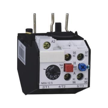 正泰 热过载继电器,NR4(JRS2)-12.5/Z 4-6.3A