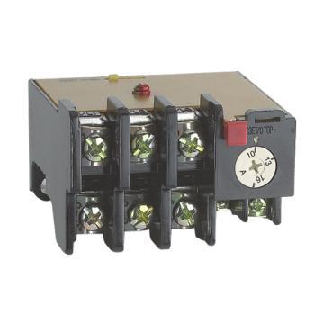 正泰 热继电器,JR36-20 1.0-1.6