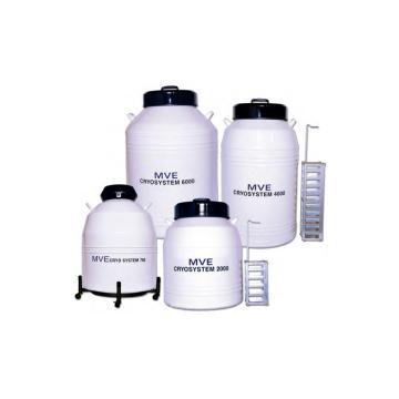 Cryosystem液氮罐,Cryosystem750,架子数量6,液氮总容量47.7L,MVE