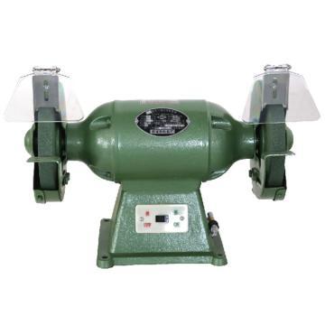 西湖200三相重型台式砂轮机,380V 0.5KW 2850r/min,M3220