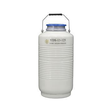 液氮型液氮生物容器,不配提桶,YDS-13-125