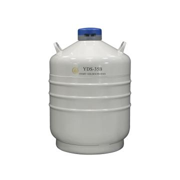 金凤 运输型液氮生物容器,YDS-35B,含6个120mm高的提筒