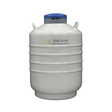 贮存型液氮生物容器,含6个120mm高的提桶,YDS-30-80