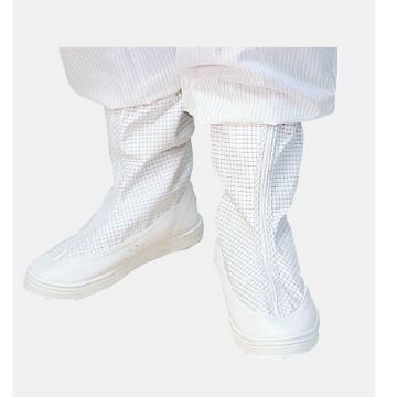 防静电无尘短统靴,白色