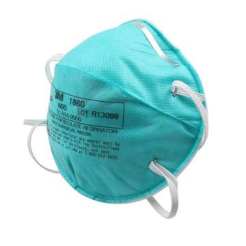3M 1860 N95医用防护口罩,20个/盒