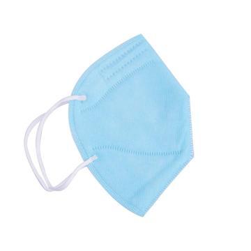 冠桦9300 KN90折叠式防尘口罩(耳戴式),蓝色,10只/包