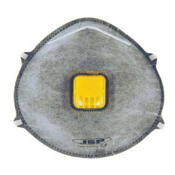JSP 123VC KN95杯状带阀防微量有机气体防尘口罩,10个/盒