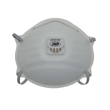 JSP CH-122V(M)KN95折叠式带阀防尘口罩,10个/盒