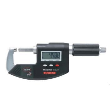 马尔防水数显千分尺,防护等级IP65,40EWR系列 0-25mm,4151705
