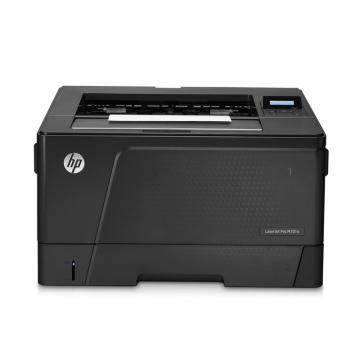 惠普(HP) 黑白激光打印机, A3 M701n(代替5200) 单位:台(含安装)