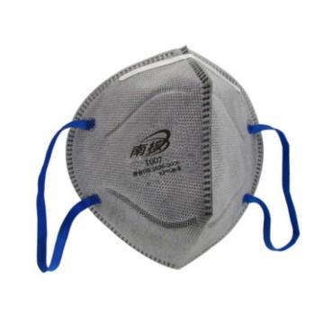 南核 1007 KP95 耳带式有机气体防尘口罩,2个/袋,50个/盒