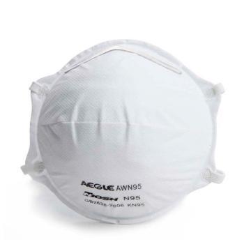 羿科头戴式碗型带阀口罩,20只/盒,60403223