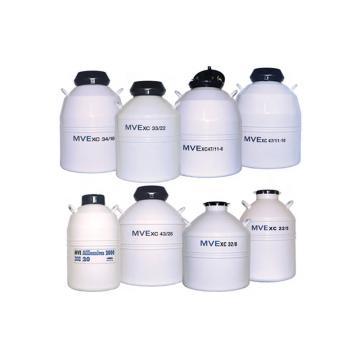 液氮罐,吊桶数量:10,液氮总容量47.4L,MVE