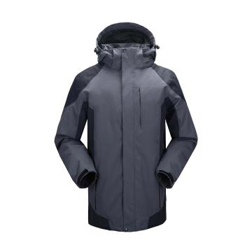 雷克兰时尚款新雪丽户外防寒夹克(灰色)含内胆,S,PR10+T200,季节性产品