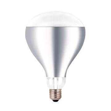 佛山照明浴霸灯泡 红外线取暖 275W E27 短脖 长度165mm,单位:个
