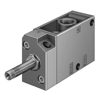 费斯托FESTO 电磁阀,2位3通常闭型,先导式,不含线圈,MFH-3-1/4,9964