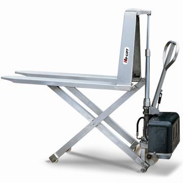 虎力 不锈钢剪式手动升高液压搬运车,载重1T,货叉尺寸540*1165mm