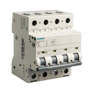 西门子SIEMENS 微型断路器 5SY6 4P 63A C型 5SY64637CC