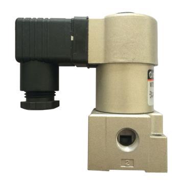 SMC 三通阀,直动式,常闭型,VT315-024D