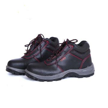 代尔塔经典系列18KV安全鞋,35,非金属防砸防刺穿绝缘