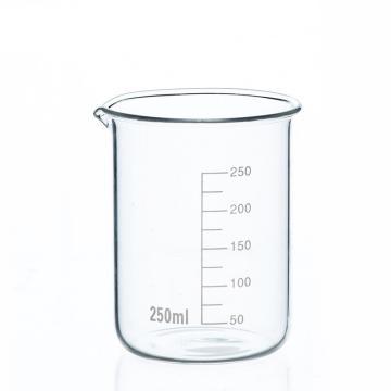 低形烧杯,250ml,10个/盒
