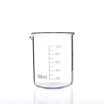 低形烧杯,100ml,10个/盒