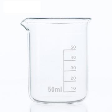 低形烧杯,50ml,10个/盒