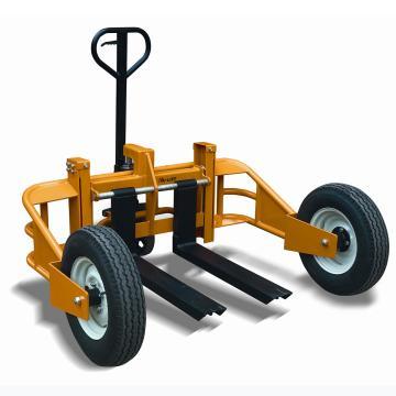 山地形手动液压搬运车,载重(T):1.25,单个货叉宽度(mm):120