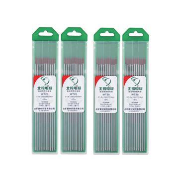 钍钨电极/钨针,用于氩弧焊枪,2.0×150 红色标,WT20,10支/盒