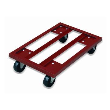 虎力 钢制周转箱小推车(表面红色涂漆)800*600mm,载重400kg