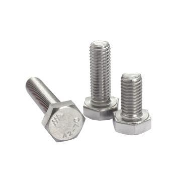 外六角螺栓,不锈钢A2,DIN933,M3-0.5X8,250个/包