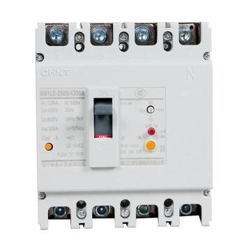 正泰 塑壳漏电断路器,NM1LE-250S/4300 200A 30mA