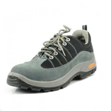 代尔塔 彩虹系列双钢安全鞋,防砸防刺穿防静电,灰黑,44,301322