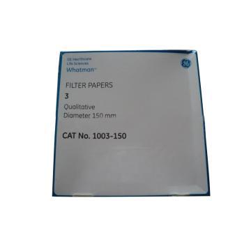 滤纸,GR 3 15.0cm 100张/盒