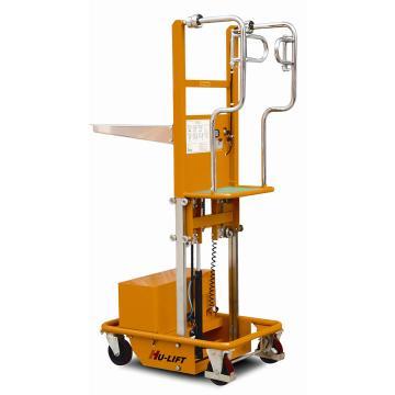 一级门架电动取货车:200kg,载货平台高度:670-1500mm