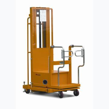二级门架电动取货车,载重200kg,载货平台高度480-2720mm