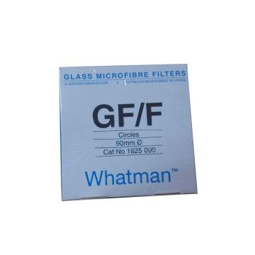Whatman玻璃微纤维滤纸(无粘合剂),GF/F,9CM,25/PK