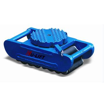 虎力 欧式重型滑动轮配钢性凸齿表面,载重:15吨