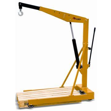 欧式单臂吊, 载重0.5ton 提升范围470—2225mm